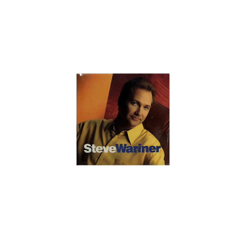 Steve Wariner Square Magnet- Yellow Shirt