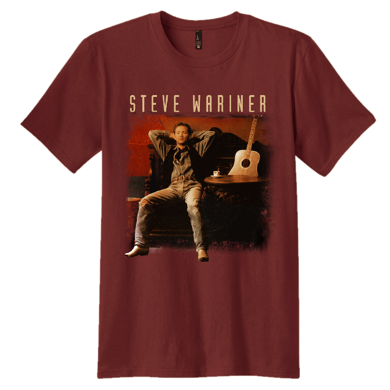 Steve Wariner Maroon Photo Tee