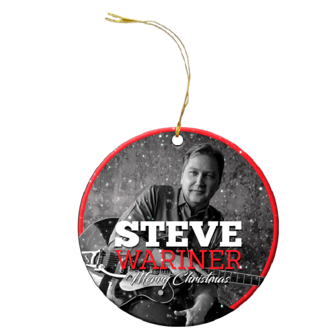 Steve Wariner Christmas Ornament