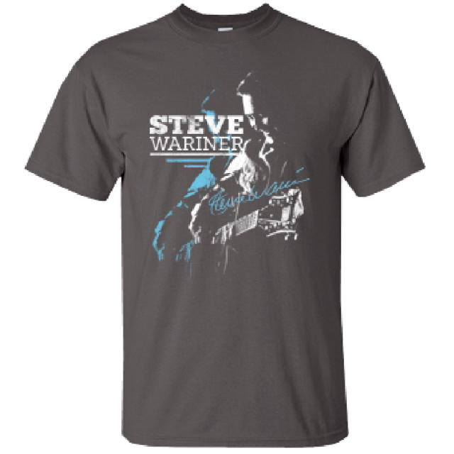 Steve Wariner Charcoal Tee