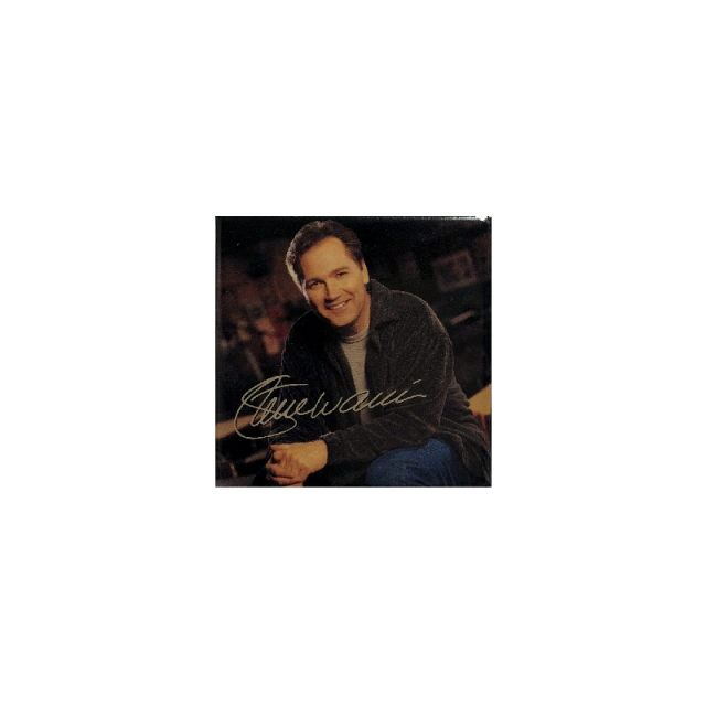 Steve Wariner Square Magnet- Brown Jacket