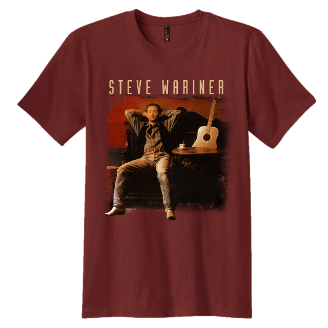 Steve Wariner Maroon Photo Tee