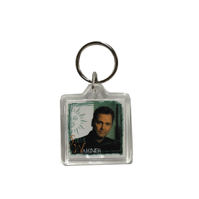 Steve Wariner Square Keyring- Faith In You